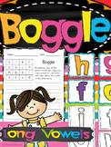 Boggle - Long Vowels (AI, AY, OA, OW, EE, EA, IE, IGH, Y, UE, EW)