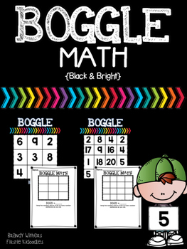 BOGGLE Math {Black & Bright}