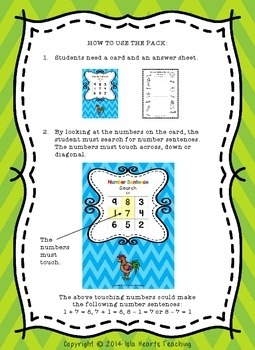 Fast Finishers (Math Challenge Activity for Early Finishers)