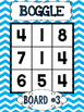 BOGGLE Math {Primary Chevron Edition}
