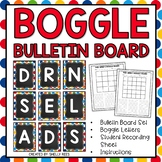 Boggle Boards and Boggle Letters for Bulletin Board - Polka Dot