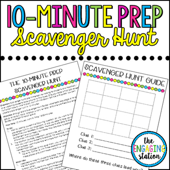 The 10-Minute Prep Scavenger Hunt