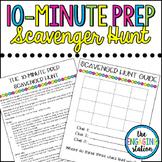The 10-Minute Prep Scavenger Hunt