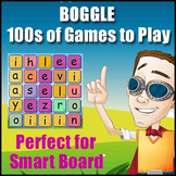 BOGGLE - {Smartboard or Interactive Whiteboard Game} - Create 1000s of Games