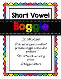 Boggle {Short Vowel Word Work}