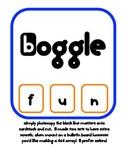 Boggle Vocab Board