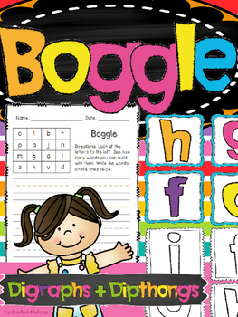 Boggle - Vowel Diphthongs and Digraphs (OO, OU, OW, OI, OY, AU, AW)