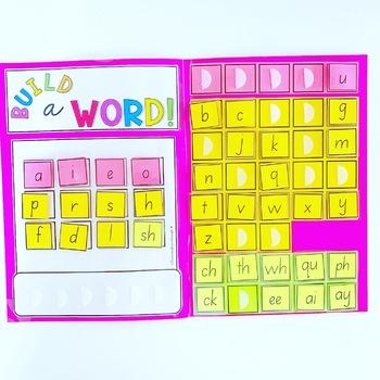Word Building Interactive Folder