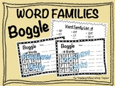 Boggle Word Family -ab