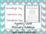 Boggle Word Games: February Pack (Valentine's, President's