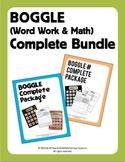 Boggle (Word Work & Math/Number) Complete Mega Bundle (40 Weeks Covered!)