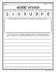 Boggle Writing Sheets