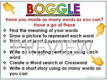 Boggle and Noggle rules #ausbts18