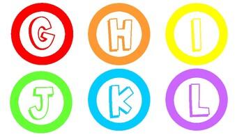 Boggle - bright colours!
