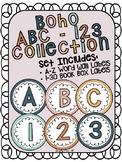 Boho ABC - 123 Collection