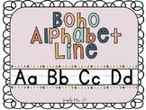 Boho Alphabet Line