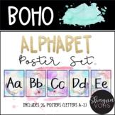 Boho Alphabet Posters- Classroom Decor