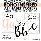 Boho Alphabet Posters - Boho Inspired Classroom Decor