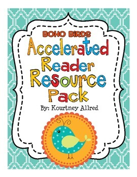 Boho Bird Accelerated Reader Resource Pack