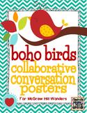Boho Bird Collaborative Conversation Posters