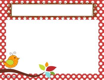 Boho Bird Slideshow Template *editable*