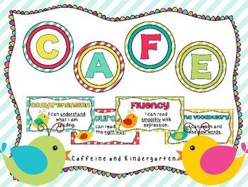 Boho Bird Themed CAFE Board