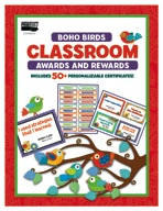 Boho Birds Classroom Awards and Rewards