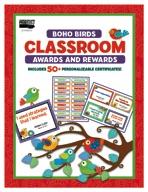 Boho Birds Classroom Awards and Rewards