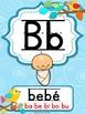Boho Birds Spanish Alphabet