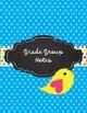 Boho Birds Teacher Binder for 2016-2017 Polka dots and Brights!