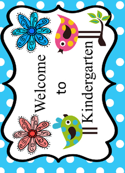 Boho Bright Birds and Dots Classroom Decor