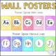 Boho Chic Alphabet Wall Posters