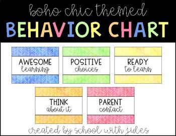 Boho Chic Behavior Poster Pack