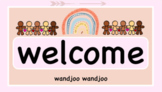 Boho Classroom Set up Pack with labels, Calendar & Welcome to class!