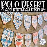 Boho Desert Birthday Display