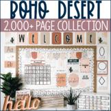 Boho Desert Classroom Decor & More Collection