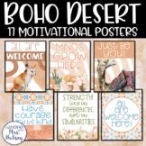 Boho Desert Motivational Posters