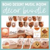 Boho Desert | Music Room Decor