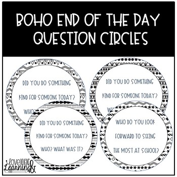 Boho End Of The Day Questions