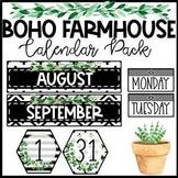 Boho Farmhouse Calendar Pack