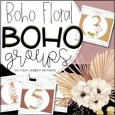 Boho Floral Classroom Decor / Neutral Classroom Decor