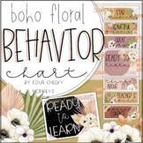 Boho Floral / Neutral Theme Editable Behavior Chart / Beha