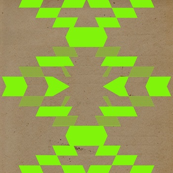 Boho Neon Digital Paper