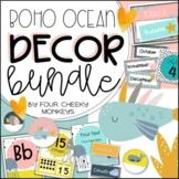 Boho Ocean Classroom Decor Bundle