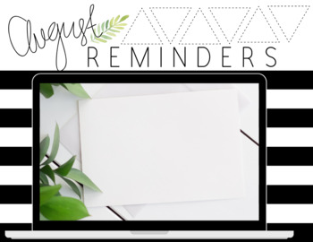 Boho Plant Monthly Reminders