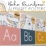 Boho Rainbow - Alphabet Posters