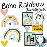Boho Rainbow Class Decor