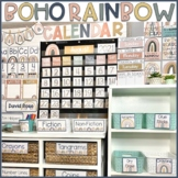 Boho Rainbow Classroom Decor BUNDLE