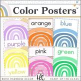 Boho Rainbow - Color Posters