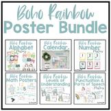 Boho Rainbow Poster BUNDLE
